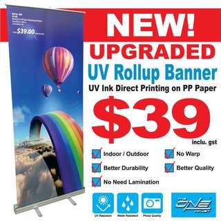 Rollup Banner (850x2000mm)