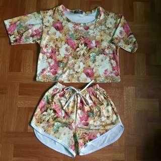 Floral Terno