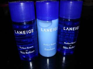 Take all laneige travel kit