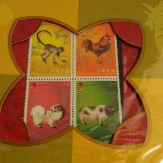 郵票 (絨面)