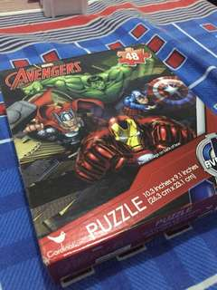 Brand new in box Avengers puzzle