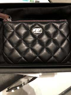 Chanel Wallet Chanel classic coin purse coins bag coin pouch 零錢包 散銀包 卡片 包羊皮 銀扣