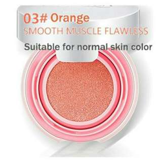 [PO] bioaqua blush on cunshion smooth