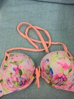 Victorioa Secret Bikini Top Push-up 32B