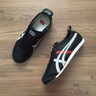 Onitsuka tiger mexico66 black/softgrey/red original