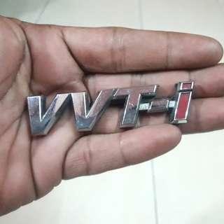 VVT-i Toyota Emblem