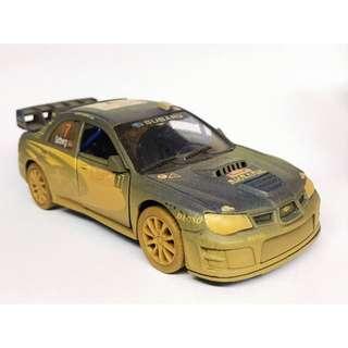 1:36 Subaru Impreza WRC 掃把佬 泥地版