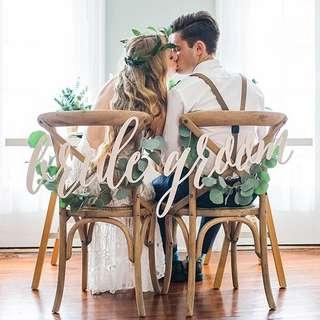 Wedding Chair Deco