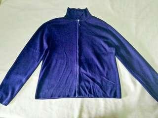 Zip up Jacket  (Navy Blue)