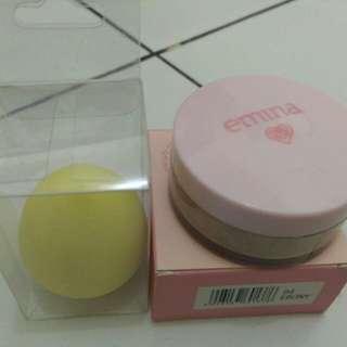 Beauty Blend + Loose Powder Emima