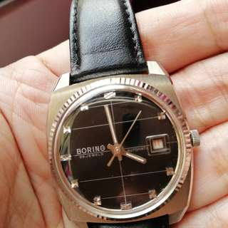 BORING SWISS WATCH LIKE NEW CONDITION (AUTO)