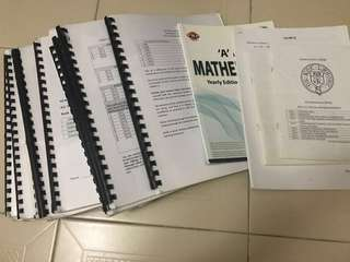 VJC H2 maths mathematics notes and practice papers