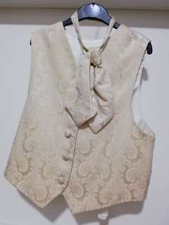 Boy Waistcoat with Cravette