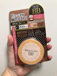 Moist Labo BB mineral powder