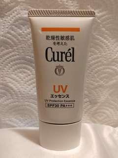 [包郵] Curél 輕透清爽防曬水凝乳液 UV Protection Essence SPF30 PA+++