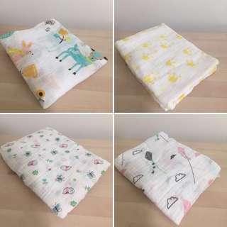 Baby Swaddle/ muslin/ blanket