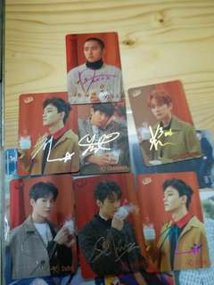 EXO成員 Yescard第30期