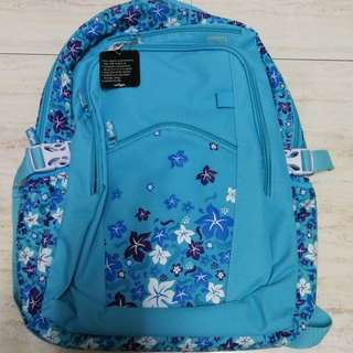Smiggle Backpack [ Blue and Pink ]