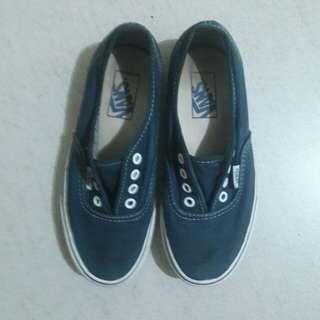 Navy Blue Vans Sneakers