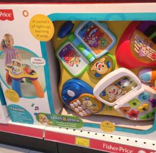 Fisher Price Laugh And learn Learning Table Activity table