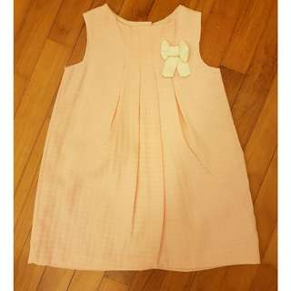 EEUC Ronoel Simple Sweet Pink dress with little ribbon