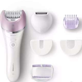 Philips Epilator BRE632 (Wet & Dry) For Total Body Hair Removal