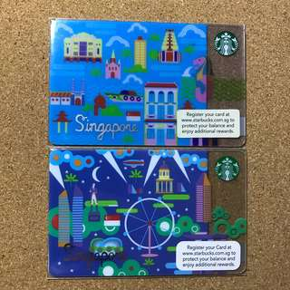 Singapore Starbucks Card Day Or Night