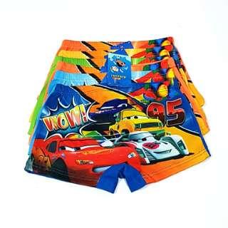 6for$12 Cars McQueen Lightning boxer panties underwear