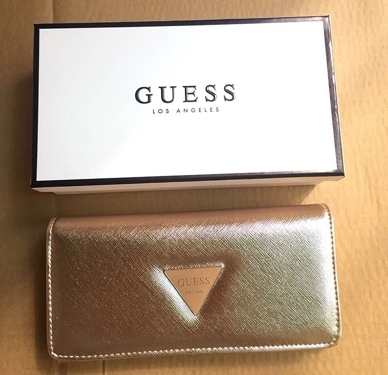 c8fbafecc AUTHENTIC GUESS Abree SLG Wallet, Women's Fashion, Bags & Wallets on  Carousell