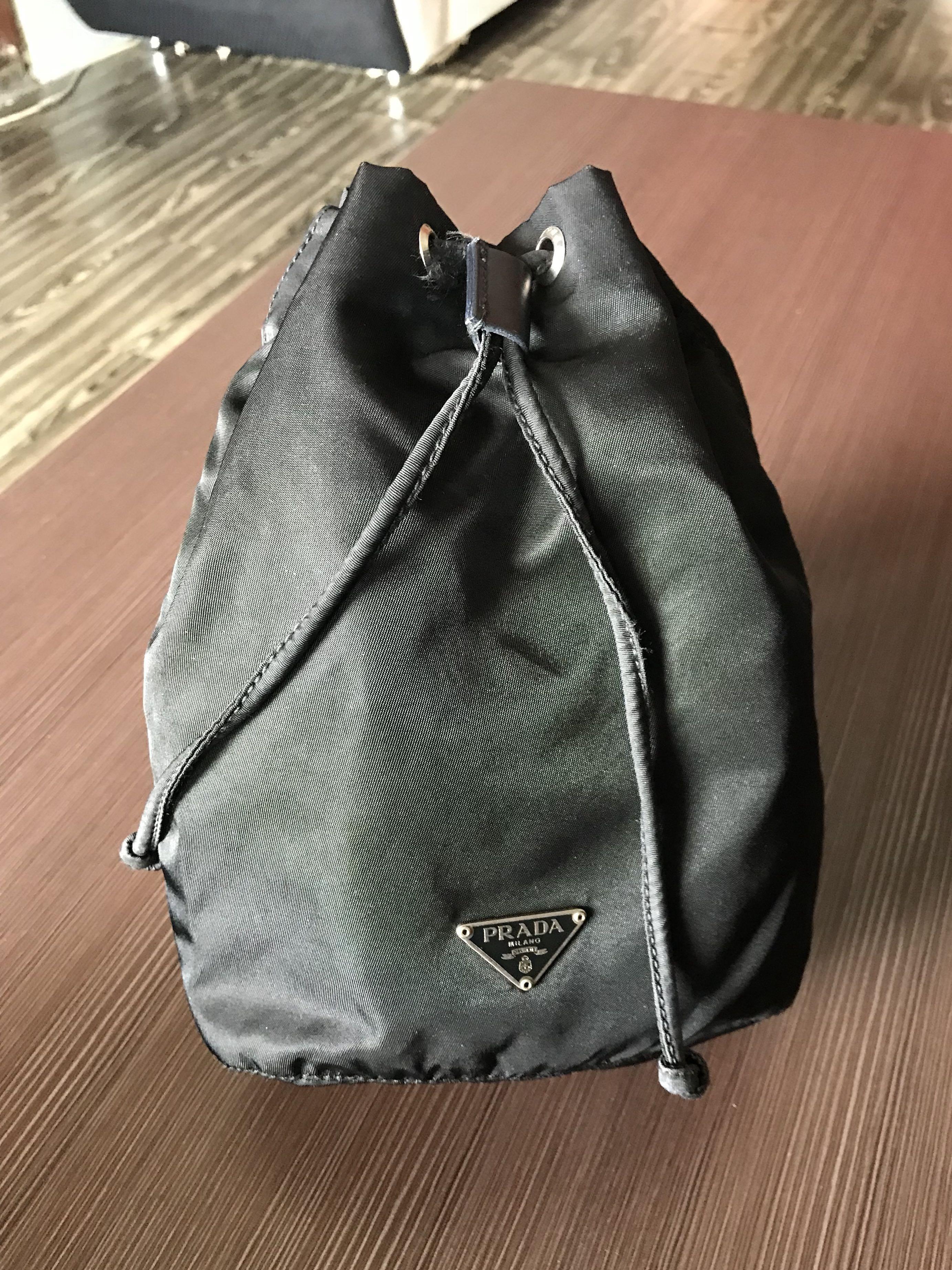 3e9cbb1e974a Authentic Prada Bucket Bag, Luxury, Bags & Wallets on Carousell
