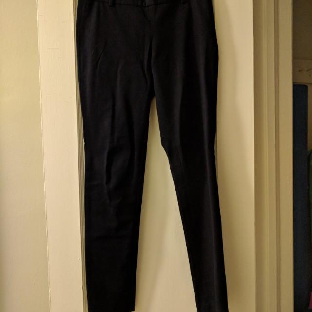Babaton bi-stretch pants in navy, size 2