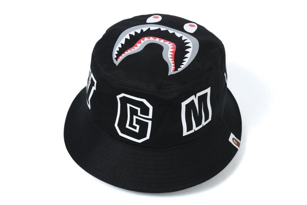 BAPE SHARK BUCKET CAP 63f4718aef1