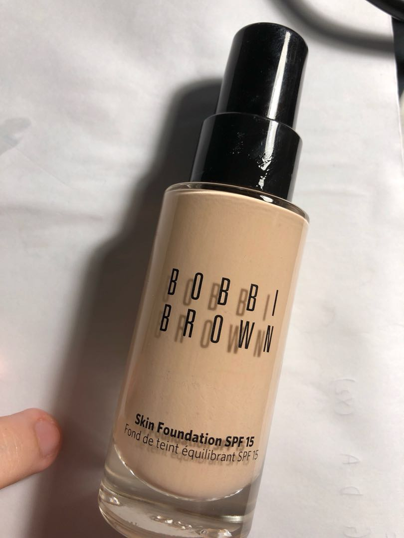 Bobbi Brown Skin Foundation Spf15 80 Left Shade Porcelain Health