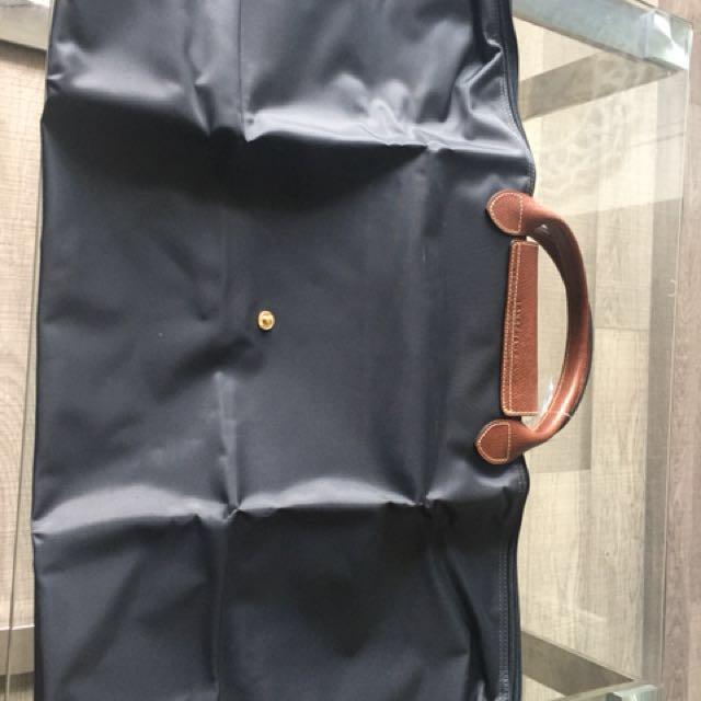 Brand new large tote longchamp gun metal