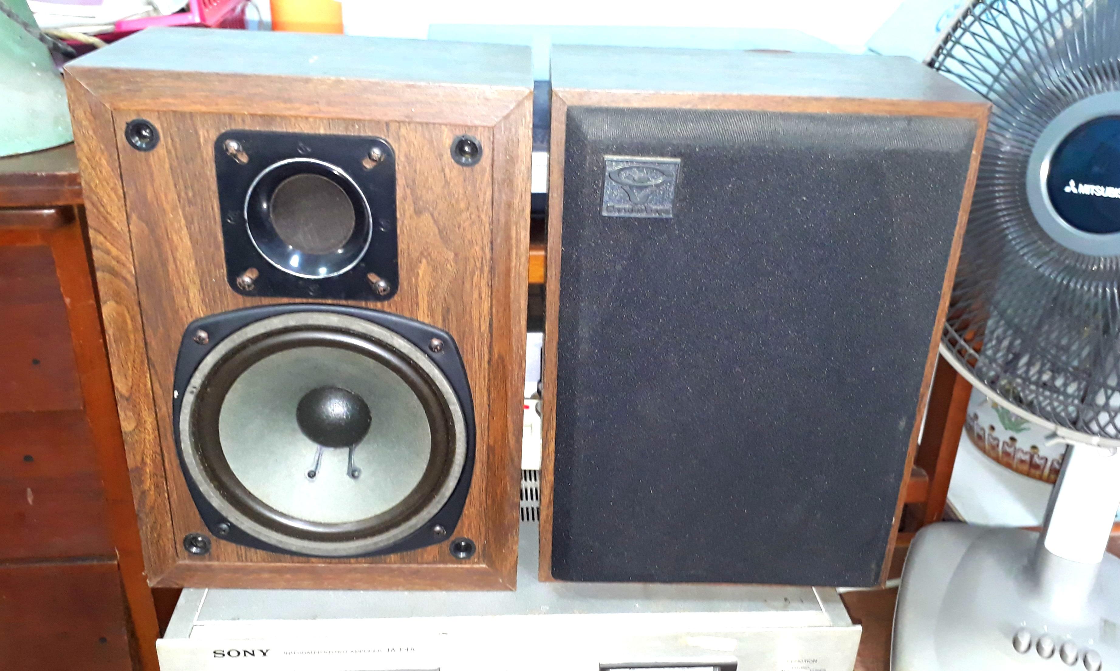 CERWIN VEGA Bookshelf Speaker Electronics Audio On Carousell