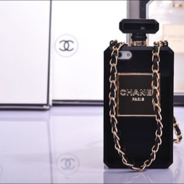 hot sale online 420ef 414ce Chanel Perfume Bottle Case For Iphone5/5s