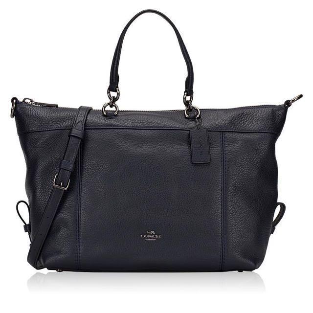 7001195760192 Coach - Lenox satchel in midnight col