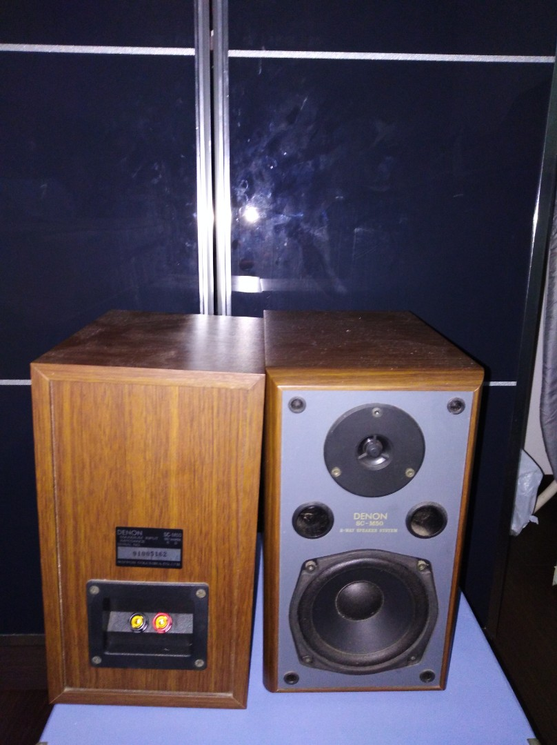 Denon Bookshelf Speakers Electronics Audio On Carousell
