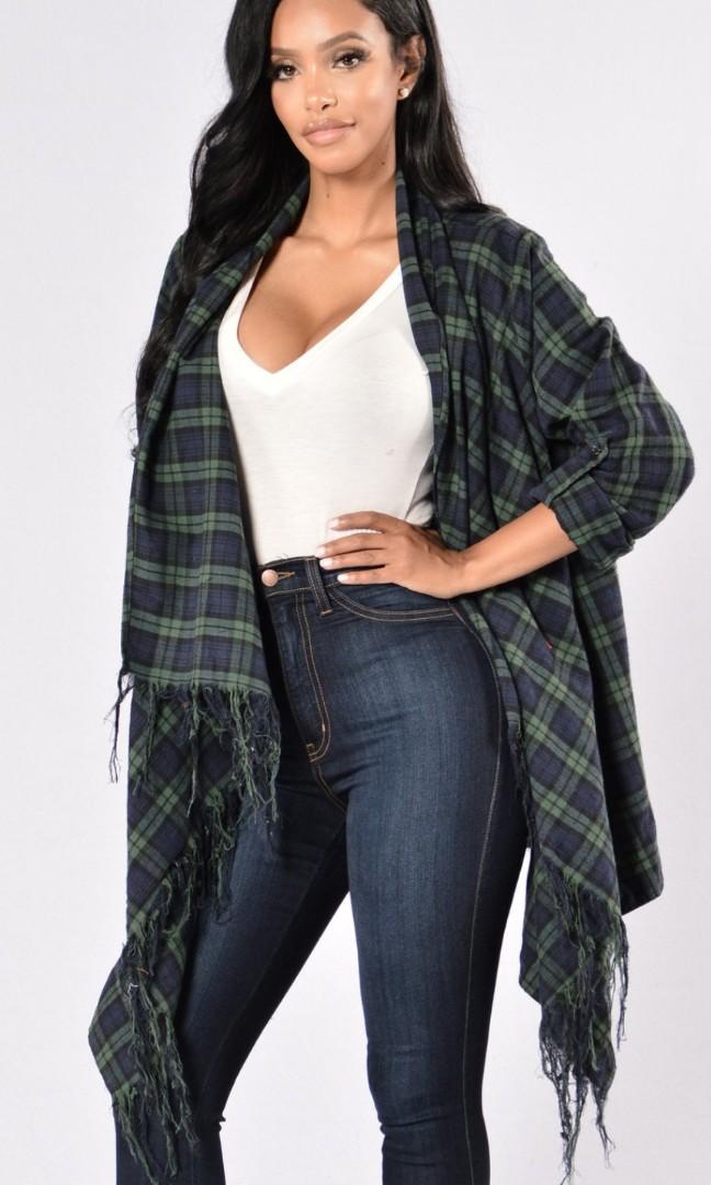 FashionNova Always In Love Jacket (S/M)