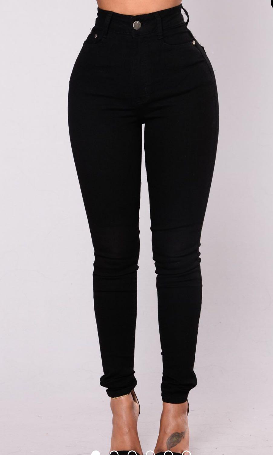 Fashionnova Black jeans