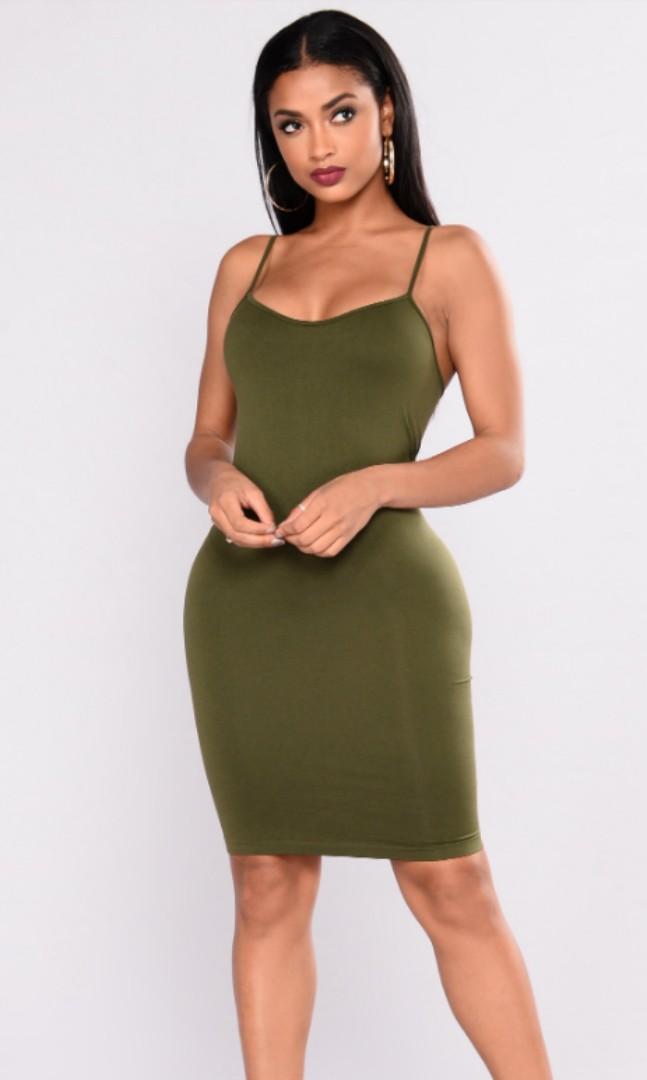 FashionNova Love in the Dark Shapewear Dress