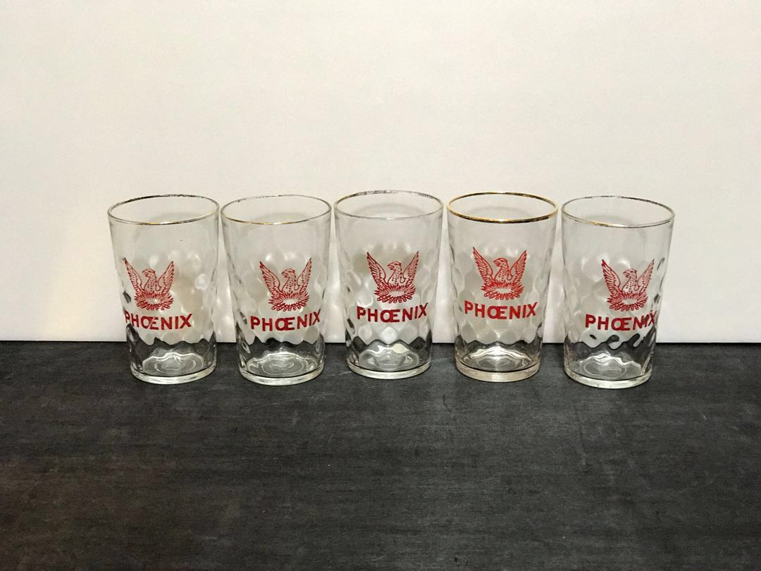 GARAGE SALE: Rare vintage drinking glass