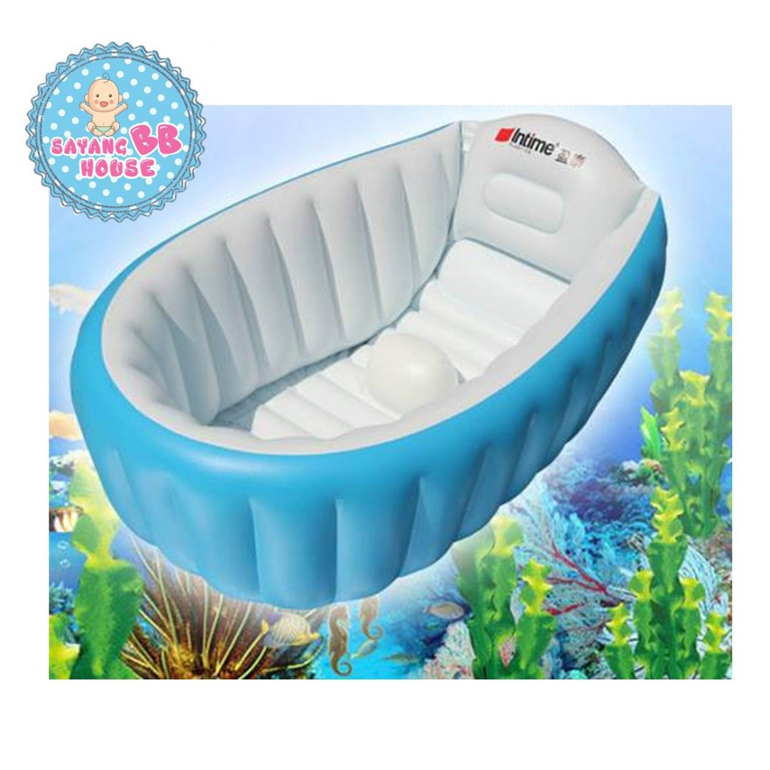 High Quality Baby Bath Tub Portable Bathtub (Blue), Babies & Kids ...