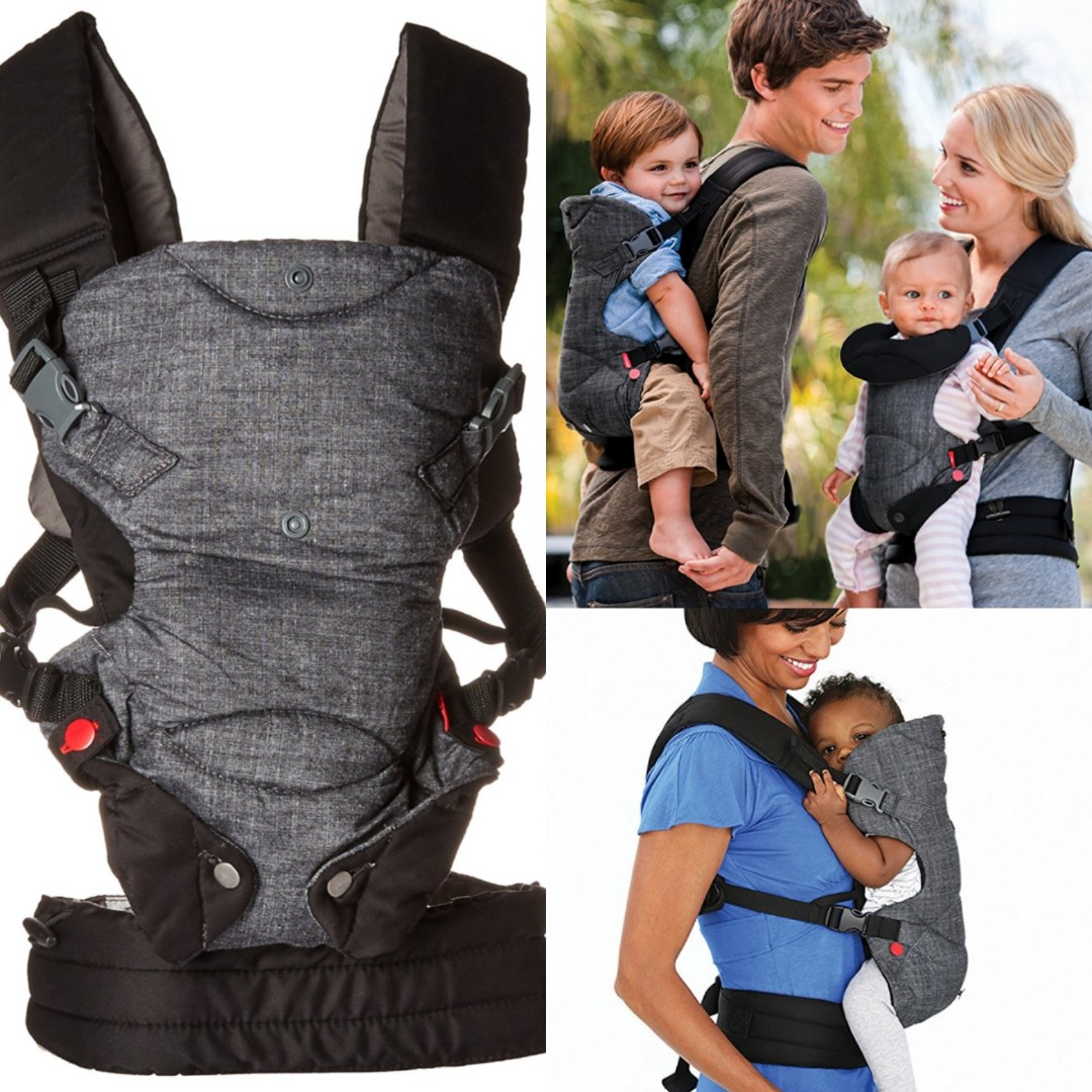 Infantino Fusion Flexible Position Baby Carrier Grey Babies