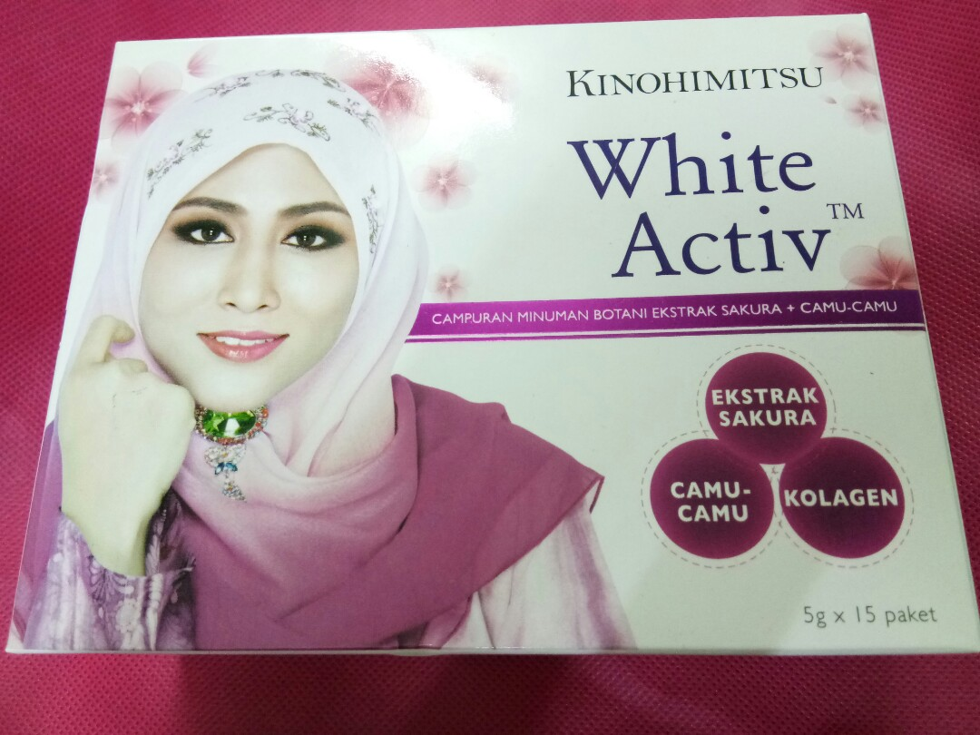 Kinohimitsu White Activ Health Beauty Skin Bath Body On Paket Lotion Dan Shower Gel Carousell