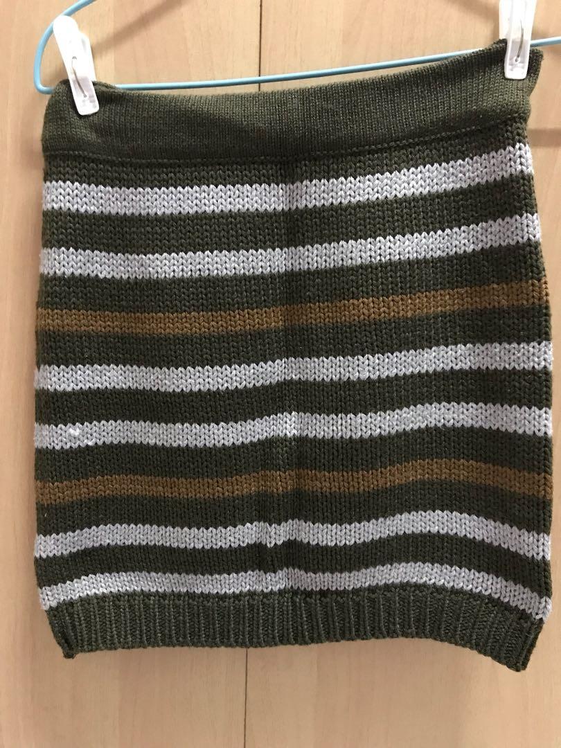 Knit Skirt Pattern di Carousell