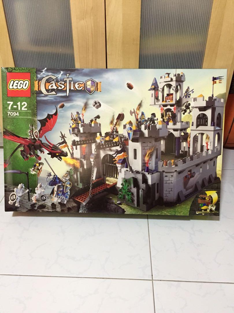 Lego Castle 7094 Kings Castle Siege Toys Games Bricks