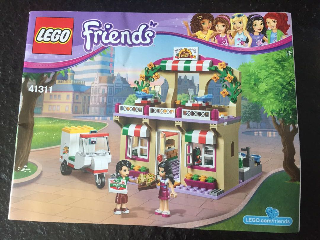 Lego Friends 41311 Heartlake Pizzeria Babies Kids Toys Walkers