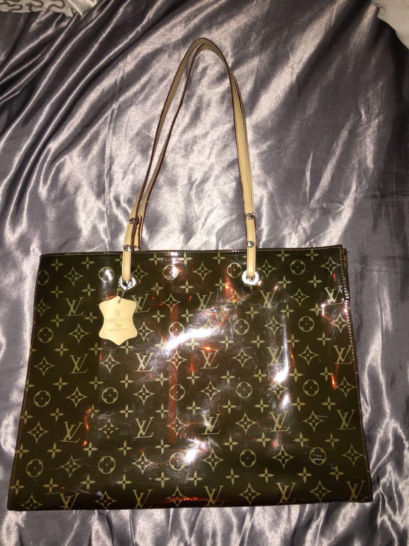Louis Vuitton Plastic Rain Bag