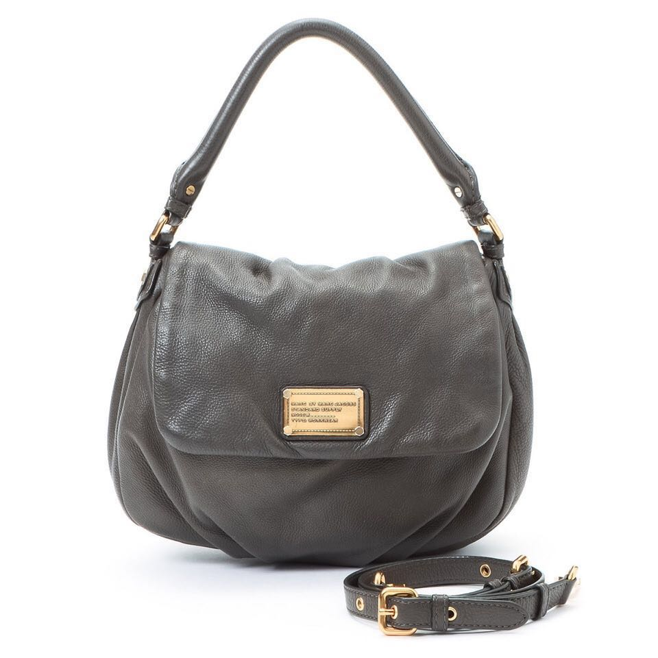 Marc by Marc Jacobs authentic Classic Q Lil Ukita bag in grey